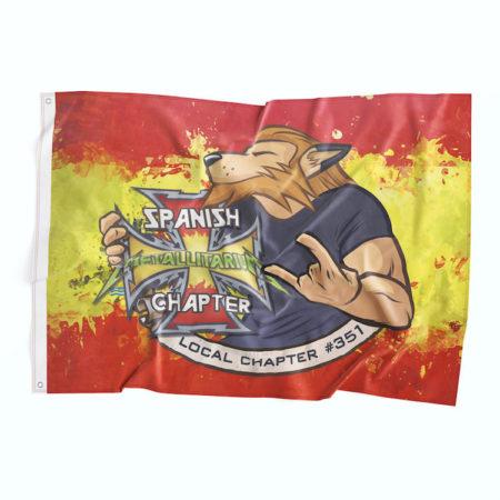 Bandera Metallica España